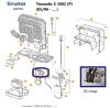 Truma S 3002 y S 3004 quemador  Trumatic 30 mbar recambio Truma 4