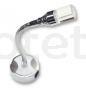 Aplique led USB lectura con flex flexible a 12 voltios para autocaravana 3