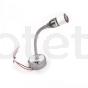 Aplique led USB lectura con flex flexible a 12 voltios para autocaravana 6