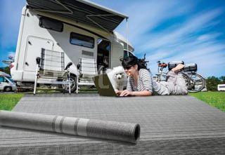 Suelo avance 300 X 600 cm Arisol gris oscuro y gris claro para alfombra caravana 4