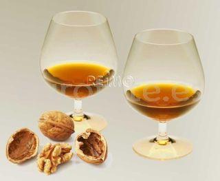 Copas cognac policarbonato para autocaravana menaje caravaning 1