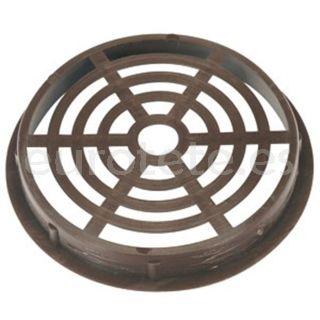Rejilla 6.5 cm marron redonda para ventilacion autocaravana 1