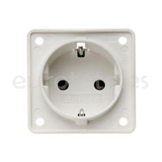 Enchufe Berker blanco electricidad aurocaravana 1