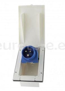 Toma corriente CEE 17 exterior 220 voltios para autocaravana 1