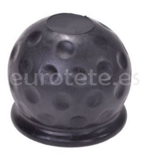 Remolque bola negra goma protector 1