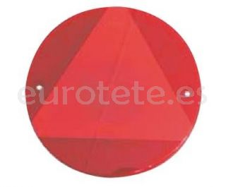 Jokon reflector redondo rojo 155 mm.