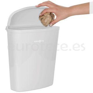 Papelera Brunner o cubo basura de 5, 5 litros en blanco para puerta autocaravana  1