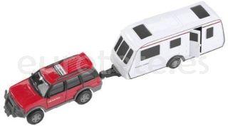 Coche con caravana miniatura juguete infantil regalo kids niños