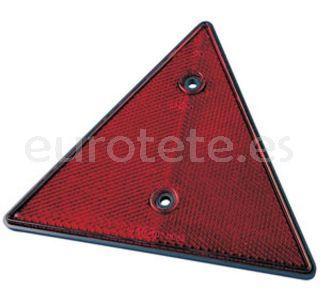Triangulo reflectante rojo 1