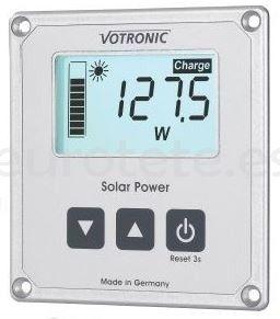Votronic pantalla LCD informacion para reguladores placa solar autocaravana 1
