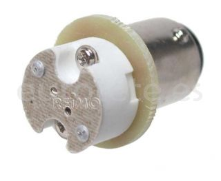 Adaptador G4 LED en BA15S BA15D para enchufar luces en autocaravana 1