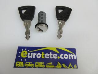 Bombin Europa y 2 llaves STS cilindro puerta autocaravana