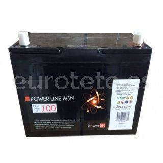 Bateria GEL 100AH de 12V POWER LINE