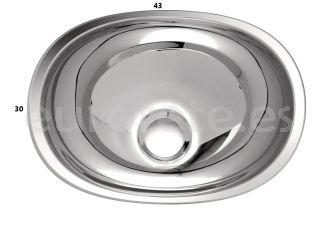 Lavabo de manos-43-cm-ovalado-acero-inoxidable-caravana-encimera-autocaravana-camperizacion-1