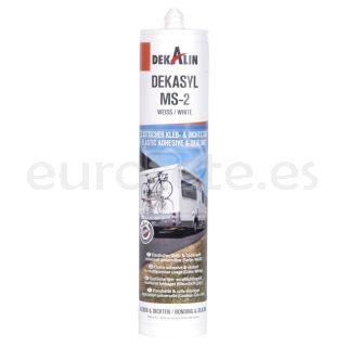 Dekalin  MS 2 blanco 290 ml adhesivo sellador