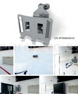 Soporte television calle con fijacion rapida extraible para autocaravana 1