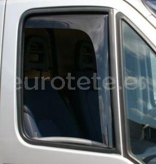 Deflector ventana Fiat Ducato, Peugeot Boxer y Citroen Jumper de la puerta conductor y pasajero de autocaravana
