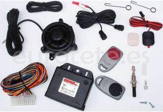 Alarma GEMINI 862 con mandos 12 voltios para la seguridad de la autocaravana o camper