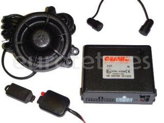 Alarma GEMINI 932R can-bus a 12 voltios para la seguridad de la autocaravana o camper