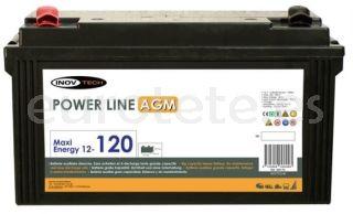 Bateria 120 amperios AGM para autocaravana