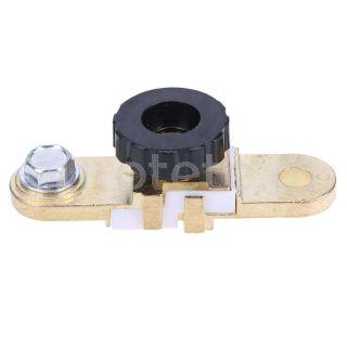 Borne bateria interruptor plano para conexion al terminal negativo de la bateria para autovaravana o camion