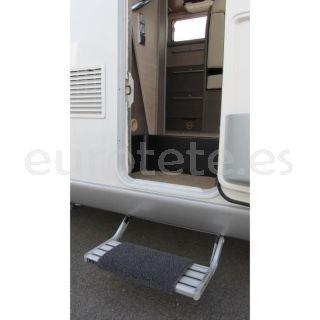 Alfombra funda protector del escalon o escalera de la entrada de la autocaravana o caravana 1