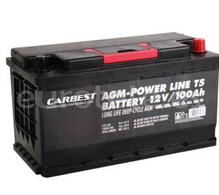 Bateria 100 agm 35 x 17 x 19 compacta y VW T5