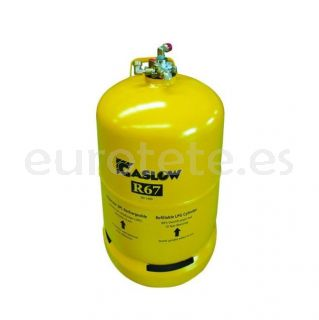 Bombona nº 2 GLP recargable Gaslow R67 segunda botella de GLP para autocaravana