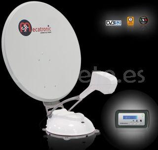 Antena satelite Mecatronic ASR 850 Flat Skew Plus automatico