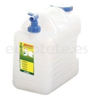 Bidon 20 litros 37 x 20 x 38 garrafa agua Brunner Jerry Pro con tapon de rosca y  tapon on / off 1