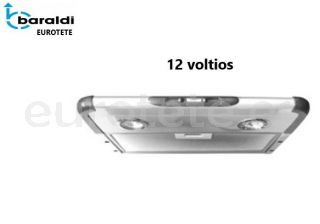 Campana cocina Baraldi extractor plano 12 voltios autocaravana 1