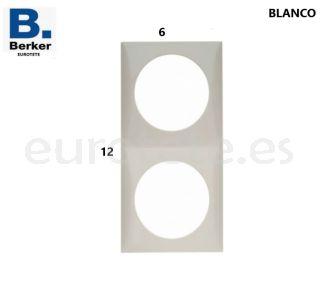 Berker-blanco-doble-marco-interruptor-electricidad-pulsador-inprojal-gala-autocaravana