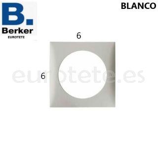 Berker-marco-individual-blanco-enchufe-pulsador-electricidad-interruptor