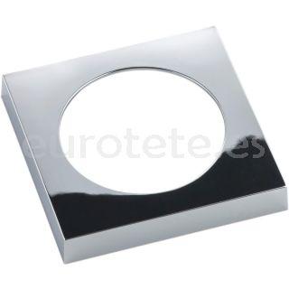 Berker brillante cromado galvanizado marco plano electricidad 1