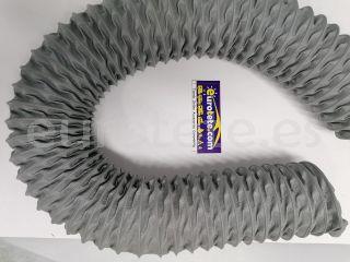Tubo 75 mm flexible para campana extractora cocina autocaravana 1