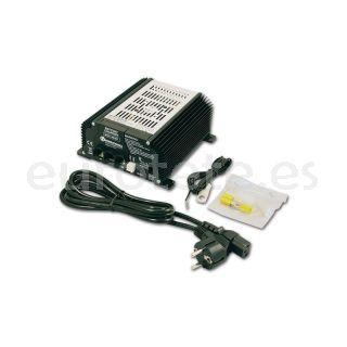 Nordelettronica NE287 kit 17 A con cables cargador bateria autocaravana 1