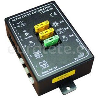 Separador bateria automatico CBE 40 SP a 12 voltios
