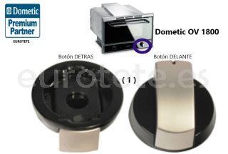 Dometic OV 1800 recambio boton control horno