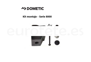 Dometic serie 8000 smev Kit 4 sistema de fijacion cocina 1