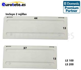 Tapa invierno 44 x 13 cm + tapa 37 x 13 cm kit Dometic WA120  WA130 para LS 100 / LS 200 frigorifico autocaravana 1