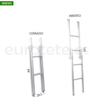 Escalera litera plegable alumino 89 - 145
