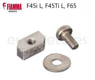 Fiamma-soporte-tornillo-panel-frontal-toldo-F45i L- F45 Ti L-F65-autocaravana-caravana