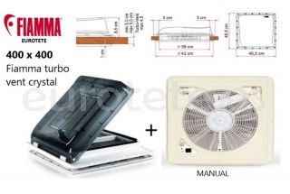 Claraboya-400-x-400-Fiamma-turbo-vent-normal-crystal- tapa-opaco-con-ventilador-autocaravana-caravana-camper