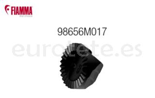 Fiamma arandela de regulacion dentada negra carry Pro 98656M017 bici 1