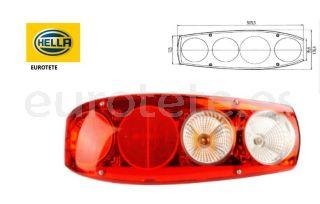 Luz-trasera-Caraluna-Hella-autocaravana-rojo-blanco-luz-de freno-intermitente- luz-trasera-luz-de-matrícula