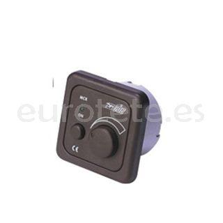 Interruptor CBE giratorio marron oscuro ventilador o iluminacion centralizada autocaravana 1
