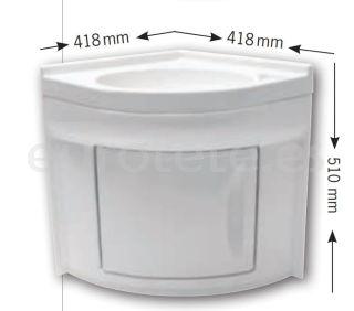 lavabo-mueble-blanco-plástico-rinconero-camper-agua-manguera-reforma-baño-plato-de-ducha-autocaravana-caravana