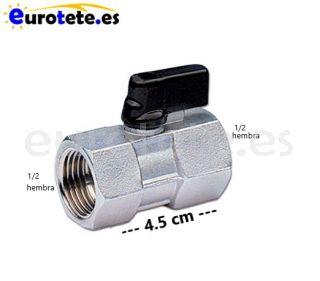 Llave-de-paso-1/2-esfera-rosca-hembra-conector-racor-agua-instalacion-mariposa-autocaravana-1