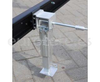Patas niveladoras 290 - 420 mm SMV aluminio kit autocaravana 1