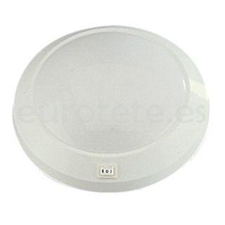 Plafon 23 cm circular 12 voltios autocaravana 1